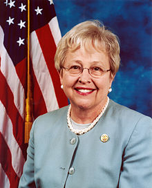 Former U.S. Rep Nancy johnson
